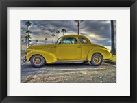Framed Yellow Oldie