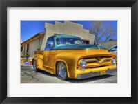 Framed Classic Car