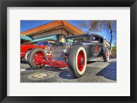 Framed Red Wheels