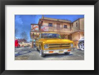 Framed Yellow Pick Up