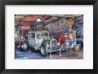 Framed Olsens Garage