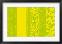 Framed Lemon and Lime Bands