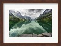 Framed Norway- Mountain Landscape