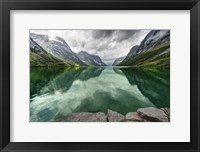 Framed Norway- Mountain Landscape