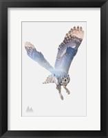 Framed Snow Owl II