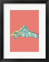 Framed Low Poly Mountain 1