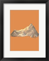 Framed Low Poly Mountain 2