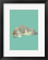 Framed Low Poly Mountain 4