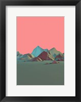 Framed Low Poly Mountain 6