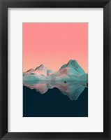 Framed Low Poly Mountain 7
