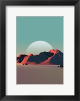 Framed Low Poly Mountain 8