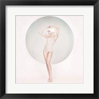 Framed Pastel Muse