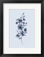 Framed Floral Blue