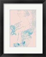 Framed Pink Blues