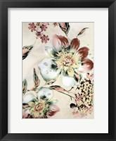 Framed Summer Flower
