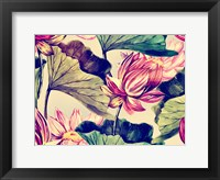Framed Water Lily