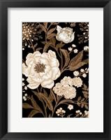 Framed Golden Rose I