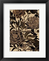 Framed Golden Rose II