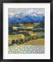 Alpine Impression II Framed Print