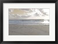Serene Sea II Framed Print