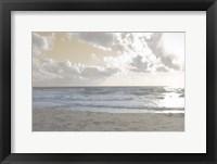 Serene Sea III Framed Print