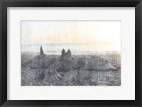 Sand Castle II Framed Print