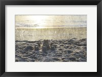 Sand Castle III Framed Print