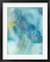 Sea Jade I Framed Print