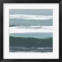 Framed Teal Sea II