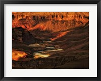 Framed Canyon View I