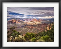 Framed Canyon View VI