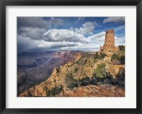 Framed Canyon View VII