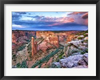 Framed Canyon View VIII