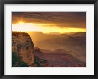 Framed Canyon View IX