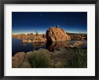 Framed Lake Canyon View I