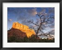 Sunset in the Desert II Framed Print