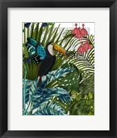 Framed Toucan in Tropical Forest