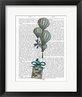 Framed Balloon and Bird Cage 2