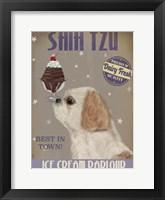 Framed Shih Tzu Ice Cream