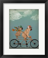 Framed French Bulldog Tandem