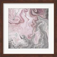 Framed Blush Minerals I