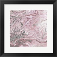 Framed Blush Minerals II