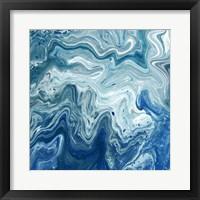 Framed Indigo Minerals I