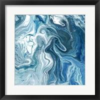 Framed Indigo Minerals II