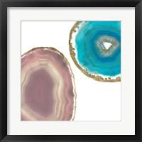 Framed Gem Stones II