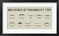 Framed Mustaches Personalities