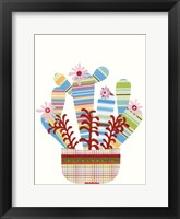 Framed Cheerful Succulent VI