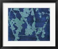 Framed Brackish Flowers I
