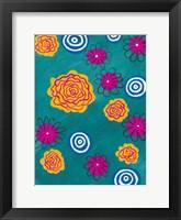 Framed Flower Pop I