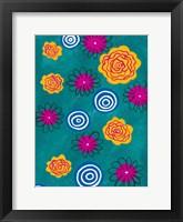 Framed Flower Pop II